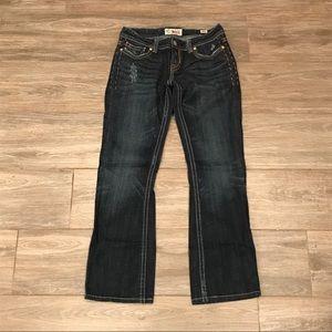 MEK Denim Oaxaca dark wash bootcut Jeans 27|34